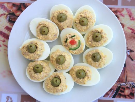 Yumurtalı SALATA (Mimoza): Yumurta Sevmeyen Çocuklar İçin :)